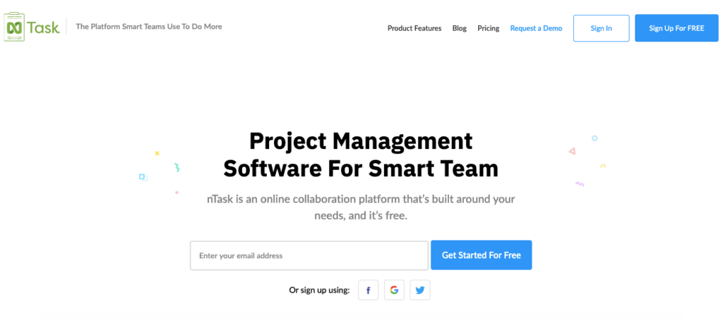 nTask - Budget-friendly project management app