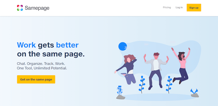 Samepage - One-page collaboration tool